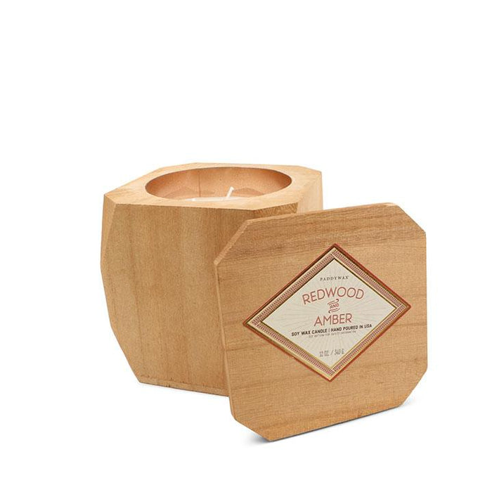 Redwood + Amber Woods Candle by Paddywax