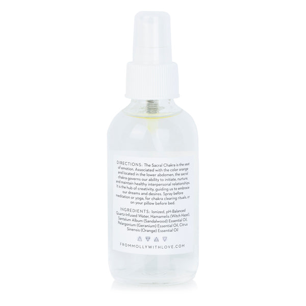 Sacral Chakra Spray by From Molly With Love