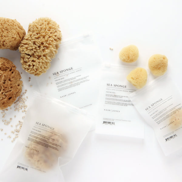 Sea Wool Body Sponge by Nash + Jones