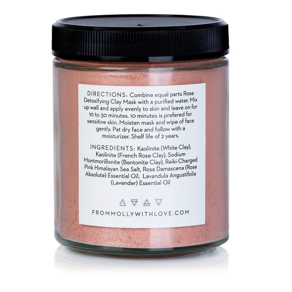 Wild Rose Clay Mask by From Molly With Love