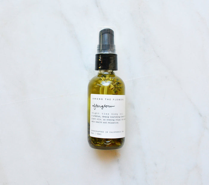 Afterglow Body Oil by Among the Flowers