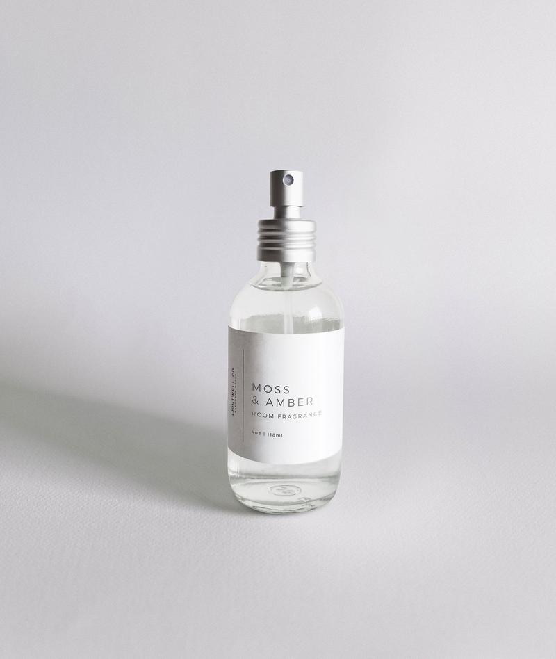 Moss + Amber Room Spray by Lightwell Co.