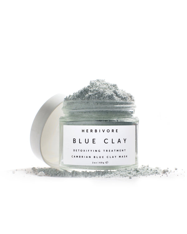 Blue Clay Spot Detox Mask by Herbivore Botanicals