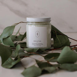 Breathe Candle by Three Leaf Studio