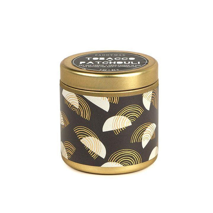 Tobacco + Patchouli Kaleidoscope Candle by Paddywax