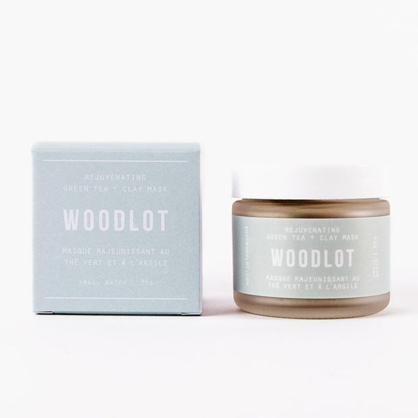 Green Tea Clay Mask by Woodlot