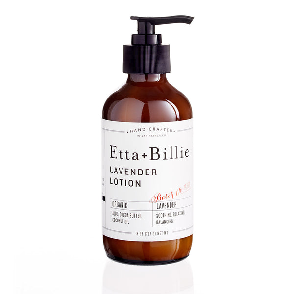 Lavender Body Lotion by Etta + Billie