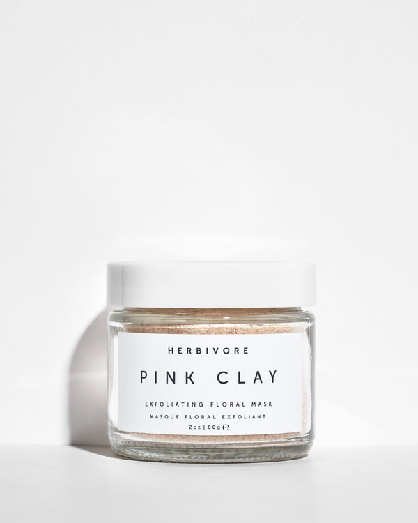 Pink Clay Exfoliating Mask by Herbivore