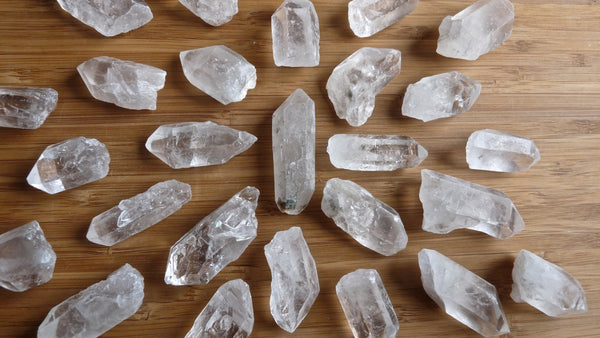 Natural Brazilian Quartz Point Crystal