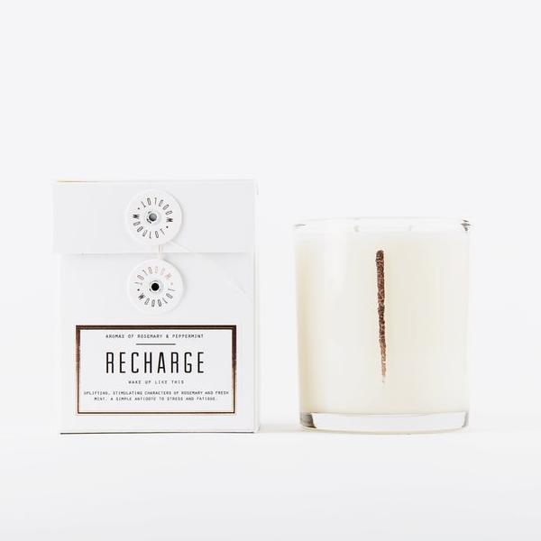Recharge Candle by Woodlot