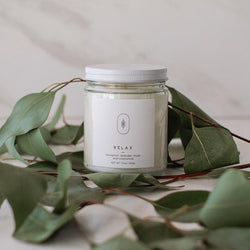 Relax Candle by Three Leaf Studio