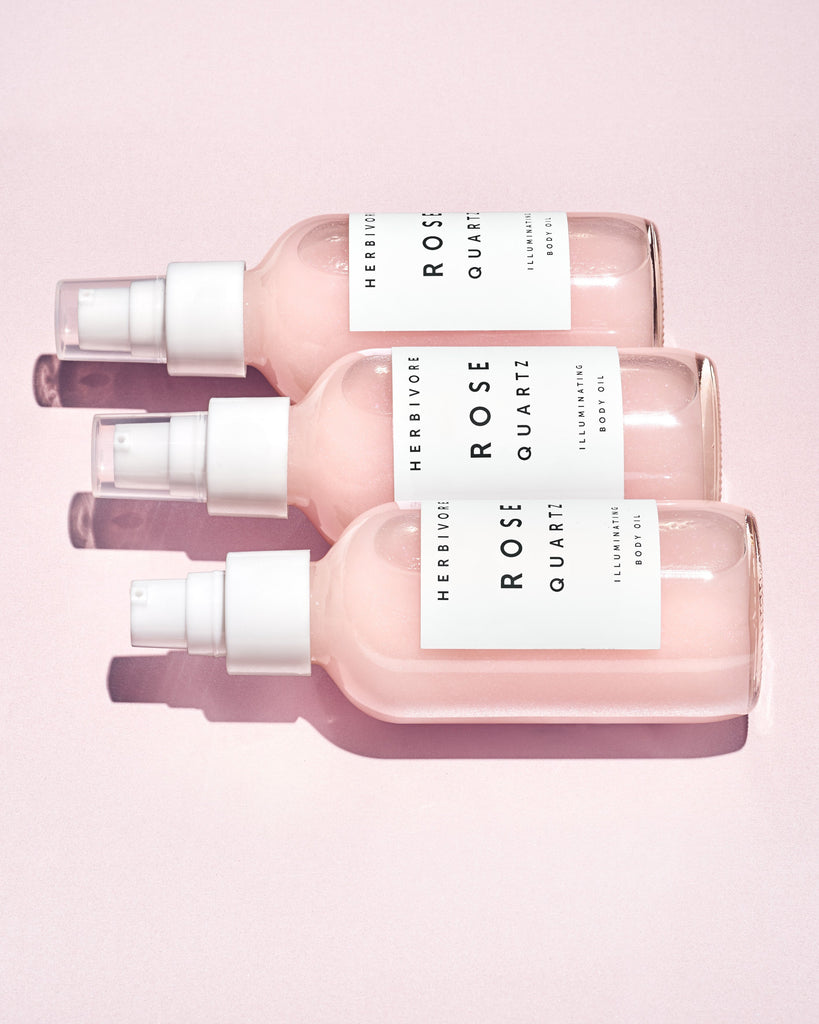 Rose Quartz Illuminating Body Oil by Herbivore Botanicals