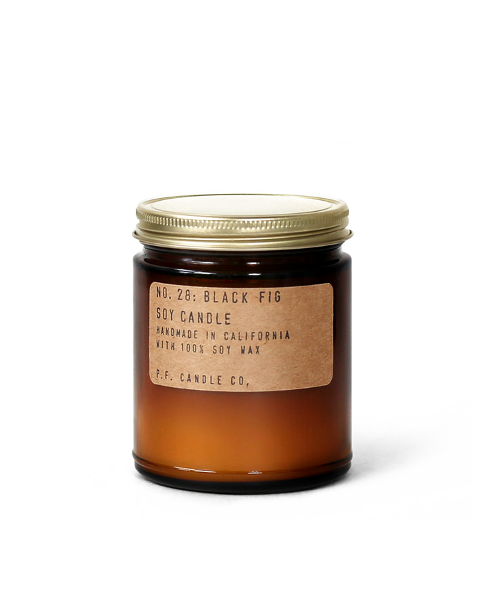 Black Fig Soy Candle by P.F. Candle Co
