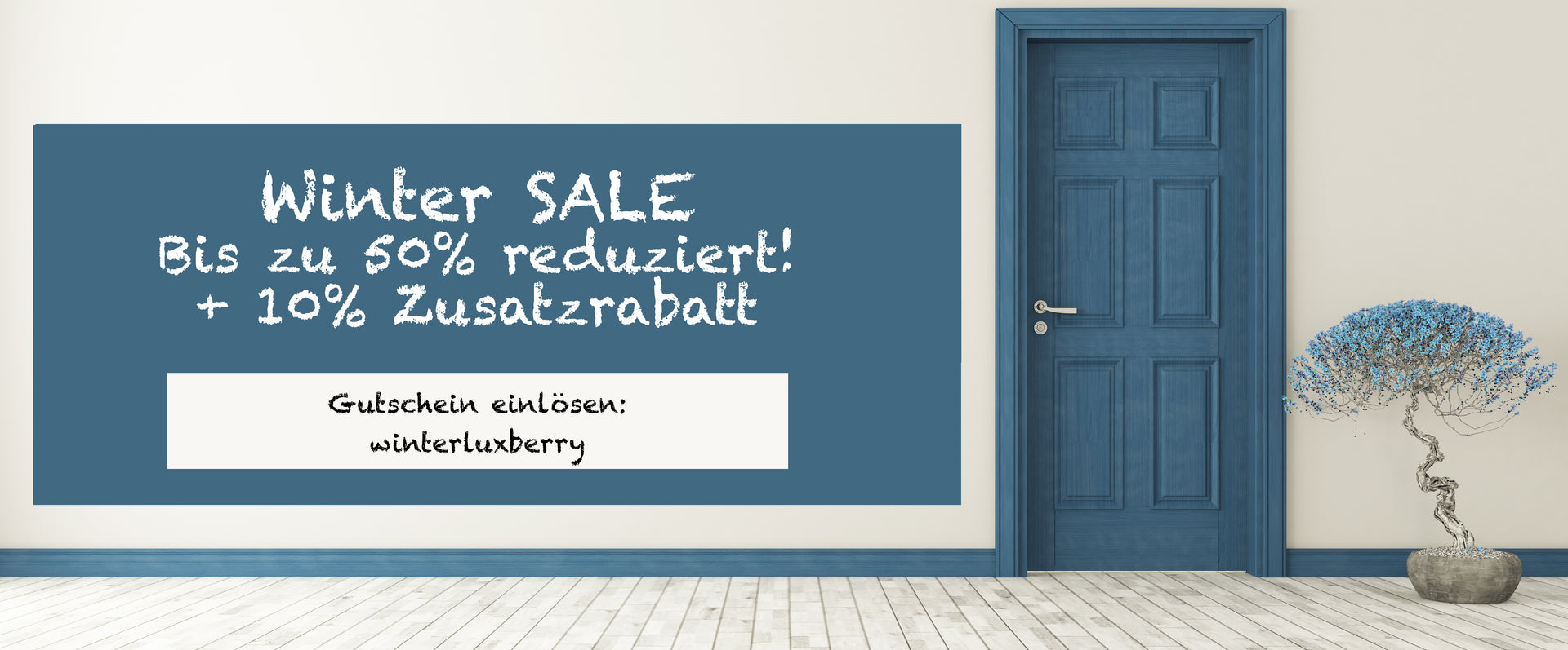 Winter Sale bei Luxberry