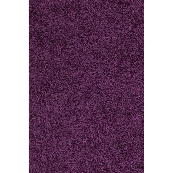 Hochflor Shaggy Teppich In Lila Luxberry