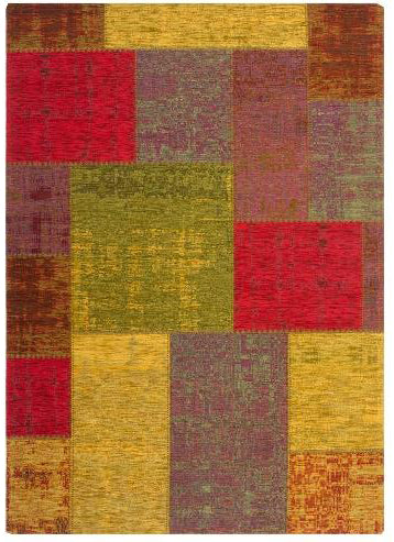 Patchwork Teppich Gent in Multi