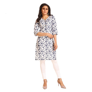 Women's Clothing White Kurta