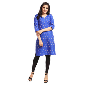 Women's Clothing Blue Kurta