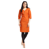 Women's Clothing Rust Kurta