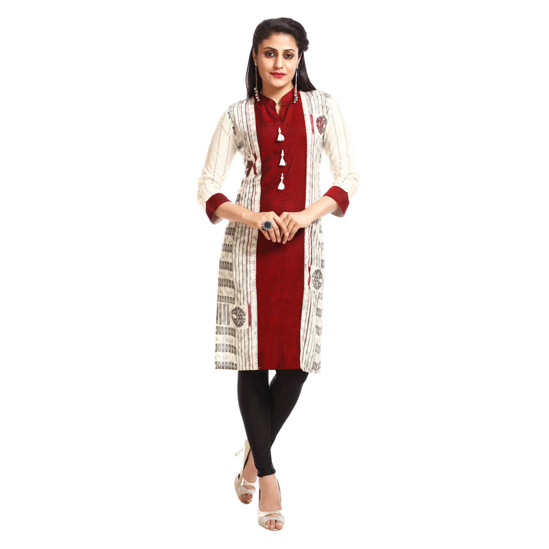 Women's Clothing Multicoloured Kurta