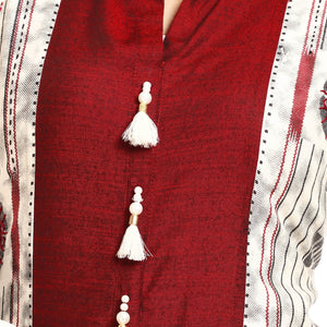 Multi-colored Casual Printed Kurta