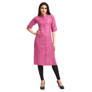 Women's Clothing Pink Kurta
