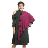 Pink Cotton Women's Stole