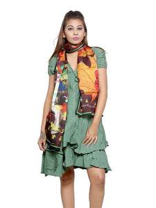 Bollywood Graphic Printed Scarf - Mohobbattein