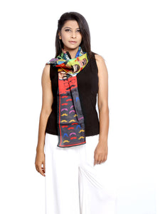 Bollywood Graphic Printed Scarf - Nathulal