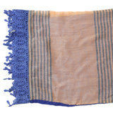 Blue Nylon Women's Stole