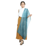 Blue Cotton Women's Stole