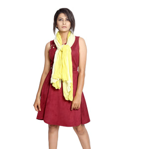 Ombre Lemon Scarf
