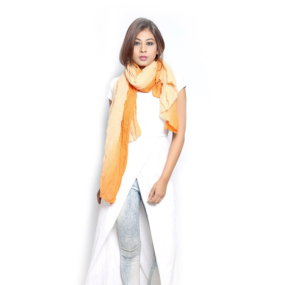 Ombre Mustard Scarf