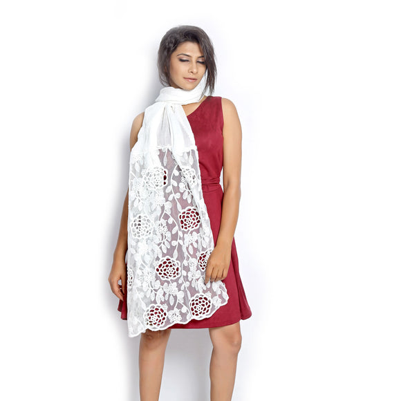 buy White Scarf online