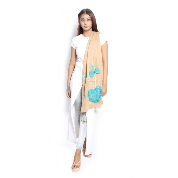 Buy Fawn Gold Scarf