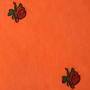 Orange Cotton Stole