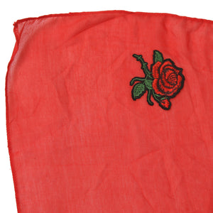 Red Cotton Stole