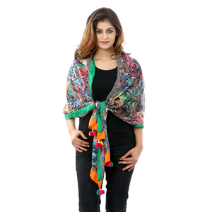 Multicolor Cotton Stoles