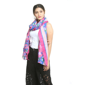 Multicolor Cotton Stole