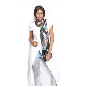 Graphic Printed Scarfs online
