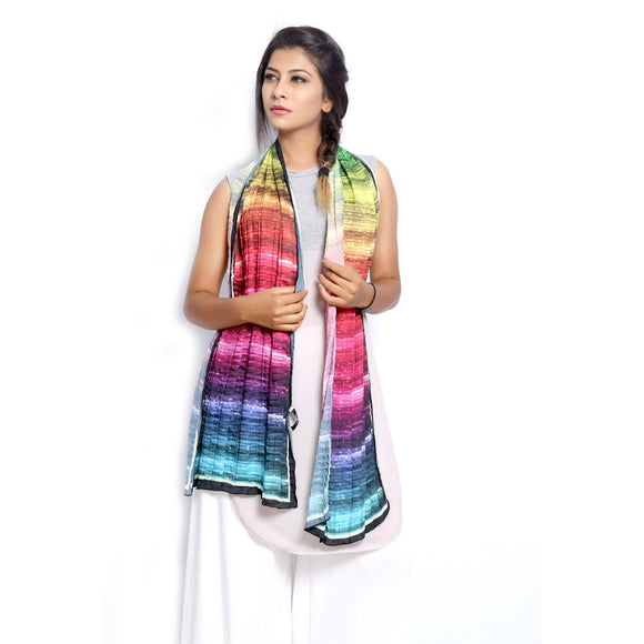 Graphic Print Scarf