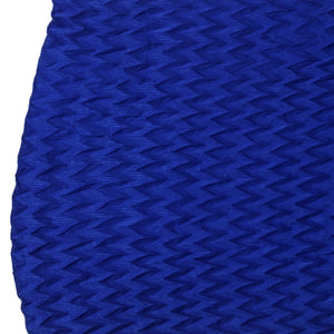 Blue Polyester Stole