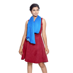Blue Ombre Scarfs