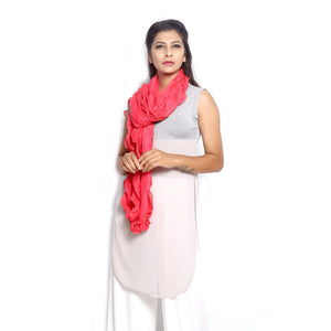 Coral Scarf red