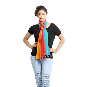 Sparrow Multicolor Georgette Stole