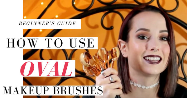How to Use Oval Makeup Brushes?
