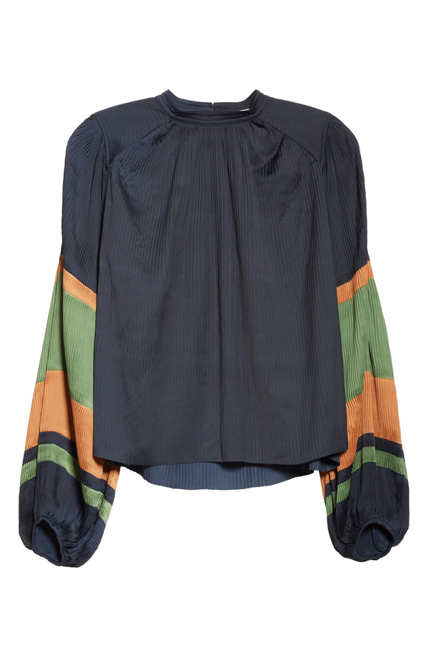 ULLA JOHNSON Rosa Blouse - Midnight