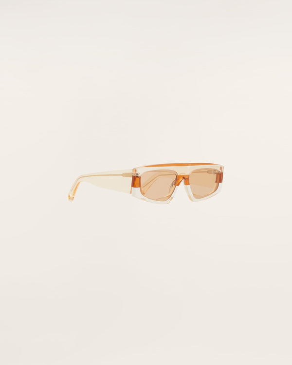 JACQUEMUS Yauco Sunglasses - Multi Orange