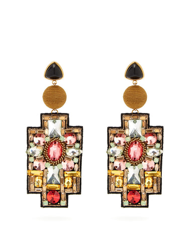 Lizzie Fortunato Madona Earrings