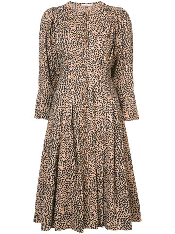 Bernadette cheetah dress